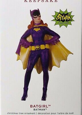 Hallmark Keepsake Ornament 2019-BATGIRL-BATMAN Classic TV Series-Limited Edition