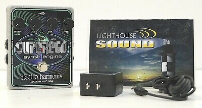 Electro-Harmonix Superego Synth Guitar Effects Pedal w/Power Supply FULLY TESTED