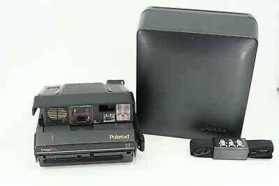 POLAROID ImagePro Spectra Instant Film Camera  Image Pro - With & Case & Strap
