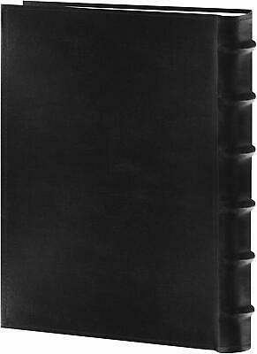 "Pioneer Sewn Bonded Leather BookBound Photo Album, Holds 300 4x6"" Photos Black"