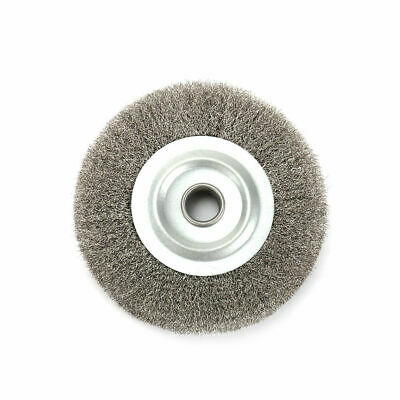 5 125mm Crimped Stainless Steel Wire Wheel Brush Disc Pad Grinder Rust Removal