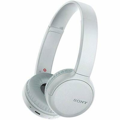 SONY Wireless Headphones WH-CH510 Bluetooth White WH-CH510 W w/ Tracking NEW