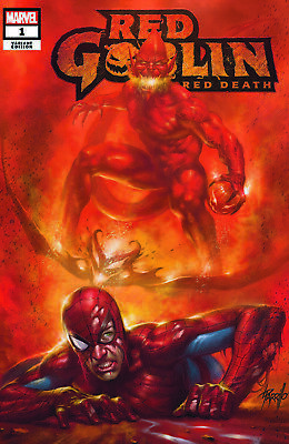 Red Goblin Red Death 1 Parrillo Nm Variant Cover A Presale With Coa Spiderman