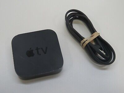 Apple TV (3rd Generation)(A1469) Streaming Media Player (Tested & Working)