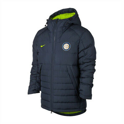 Nike Inter Milan Down Filled NSW Stadium Coat Jacket | Men's S Small |886800-473