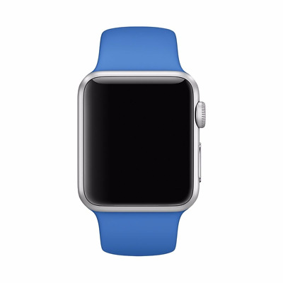 38 mm Wrist Bracelet Sport Strap Silicone Band For Apple Watch Replacement