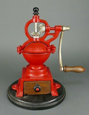Fine Antique 1930's Elma 00 Cast Iron Table Top Coffee Grinder Mill Spain