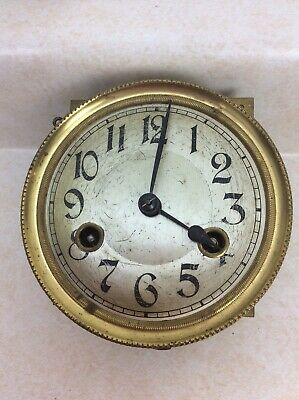 Antique German Wall Clock Movement, with Dial, Parts / Repairs