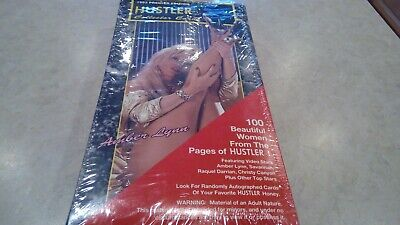 Rare 1 BOX 1992 Hustler Trading cards COLLECTOR Cards Wax Box Autographs ?