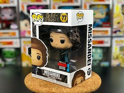 77 Funko POP! Game of Thrones Missandei w/ PROTECTOR NYCC 2019 Shared Exclusive