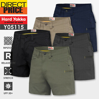 Hard Yakka Work Short heavy duty rip stop utility 3056 Short Y05115 NEW