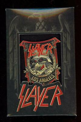 Official Slayer Enamel Metal Pin Sdcc 2018 Nuclear Blast Records #15/100 Rare