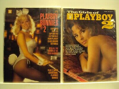 Playboy - Special editions - Lot of 2 VG condition. Bunnies and Girls of PB #2s.