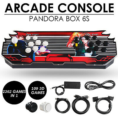 Pandora's Box 2650 3D & 2D Games in 1 Home Arcade Console 1080P HDMI Retro Video