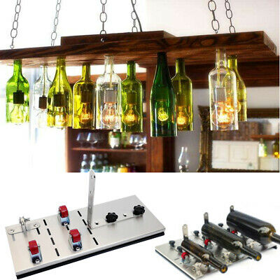 Glass Bottle Cutter Kit Craft Adjustable Art Cutting Machine Tool Jar Recycle AU