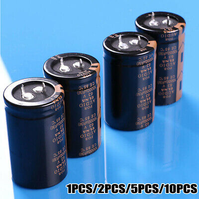 4pcs 3050mm Replacement Electrolytic Capacitor for Elna Audio 63V 10000UF