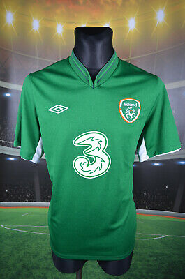 Ireland Eire Umbro 2012-13 Home Football Shirt (46) Jersey Top Trikot Mens