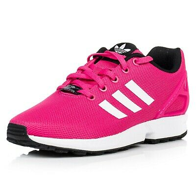 Adidas ZX Flux Junior Girls Sneaker Shoes Women's Trainers S74952 Pink/White new