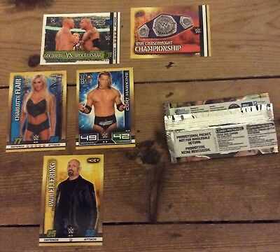 Slam Attax Topps trading cards wrestling 10th edition promo pack