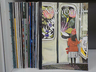The New Yorker - 34 Magazines Collection! (ID:6191)
