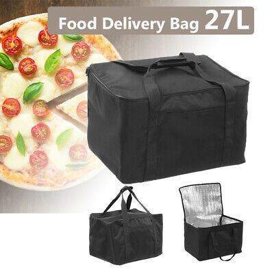 27L  Delivery Bag Pack Insulated Rucksack Take Away Pizza Carry Out