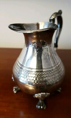 Antique Victorian Silver Plated Cream Jug