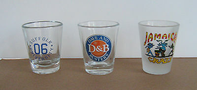 Collectible Shot Glasses / Dave & Buster's, etc. - FREE SHIPPING !!!