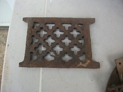 Antique Cast Iron - SMALL - Detail Architectural Salvage Accent Piece Very Thick
