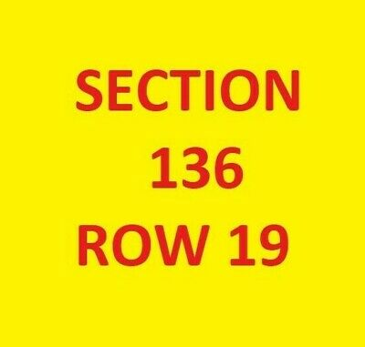 3 Tickets to LA Chargers vs KC Chiefs @ Arrowhead 12/29/19 Sec 136 Row 19