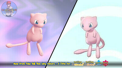 Mew Pokéball Plus (any nature 6 IV's) for Let's Go Pikachu/Eevee | Sword/Shield
