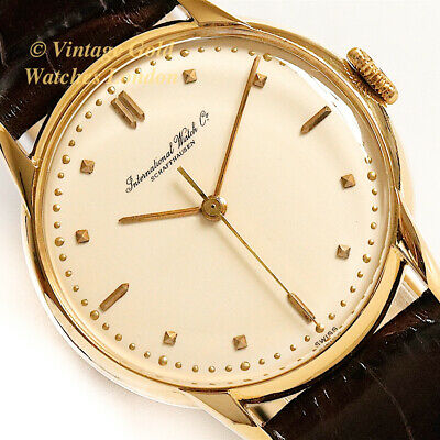 Iwc Cal.89, 18Ct, 1948, 35Mm – Immaculate!