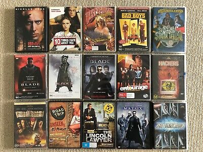 Huge DVD Collection Sale - Wide Range of Movie Titles Available!