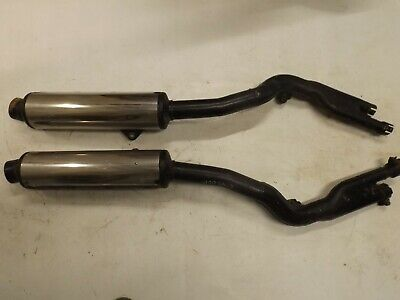 Suzuki GSX600f pair of exhausts