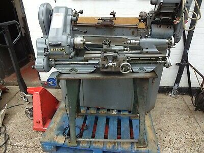 Myford Super 7 lathe With Power Cross Feed