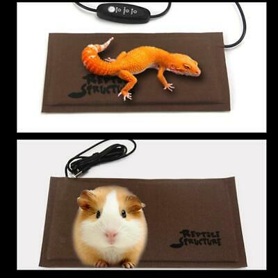 USB Waterproof Heat Mat Reptile Brooder Incubator Pet Heating Pad Lizard Mat