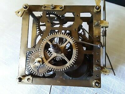 1 Day Cuckoo Clock Movement, Parts Or Repair Only