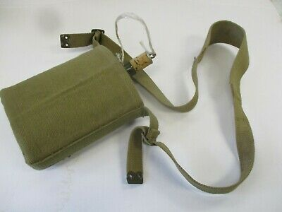 KAPPYSCOLLECTIBLES  British Military Surplus WWII Era M37 Canteen with Wool Cove