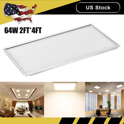 20x Led Panel Lights 64W 2FT*4FT Ceiling Suspended Mounted Warm White Fixtures