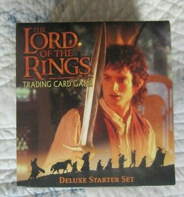 Lord of the Rings Collectable Trading Card Game. Starter Set. New.
