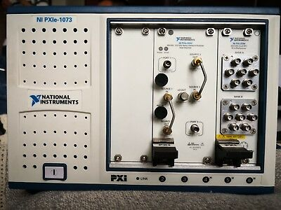 National Instruments NI PXIe-1073 Controller,5-Slot, Up to 250 MB/s
