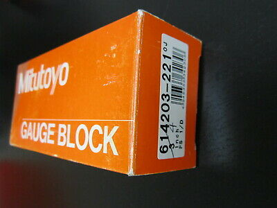"Mitutoyo Gage Block 4"" inches"