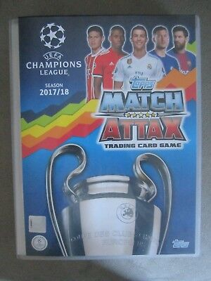Match Attax Champions League 2017 / 18 - 10 base cards