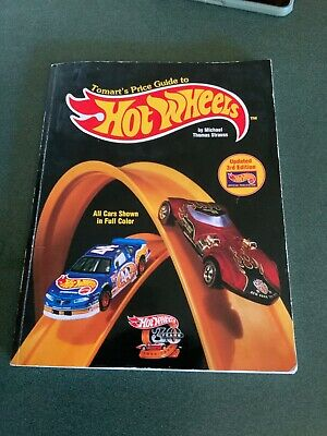 TOMART'S PRICE GUIDE TO HOT WHEELS UPDATED 3rd EDITION  BY MICHAEL T STRAUSS