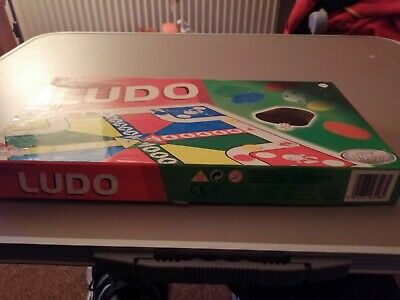 Ludo Board Game HTI Traditional Games Classic Family Childrens Kids Fun Time