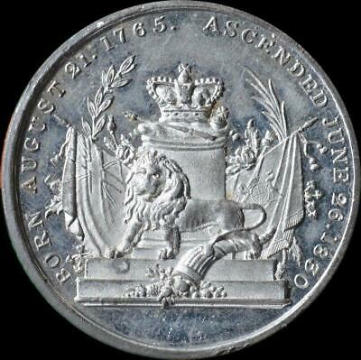 William IV - 1830 Ascention medal by T.W.Ingram