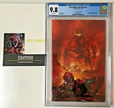 Red Goblin Red Death #1 Cgc 9.8 Nm/Mt Parrillo Rare Variant New Series Presale