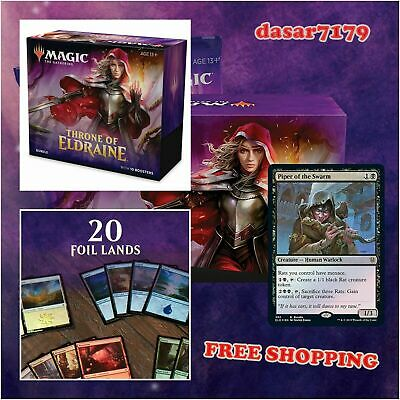 Magic: The Gathering Throne of Eldraine Bundle | 10 Booster Pack (150 Cards)