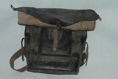 WWII Era US Army D-Day Rubberized Special Purpose Waterproof Pack Bag LR 10-024