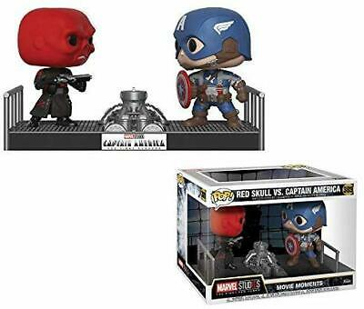 Funko Pop Movie Moments: Marvel- Captain America and Red Skull Collectible
