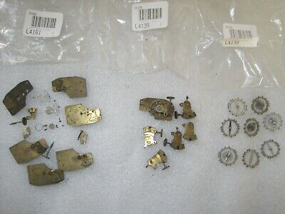 Clock Platform Escapement Parts  Antique Old